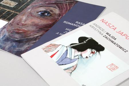 Katalogi do wystaw w CSW w Suwałkach